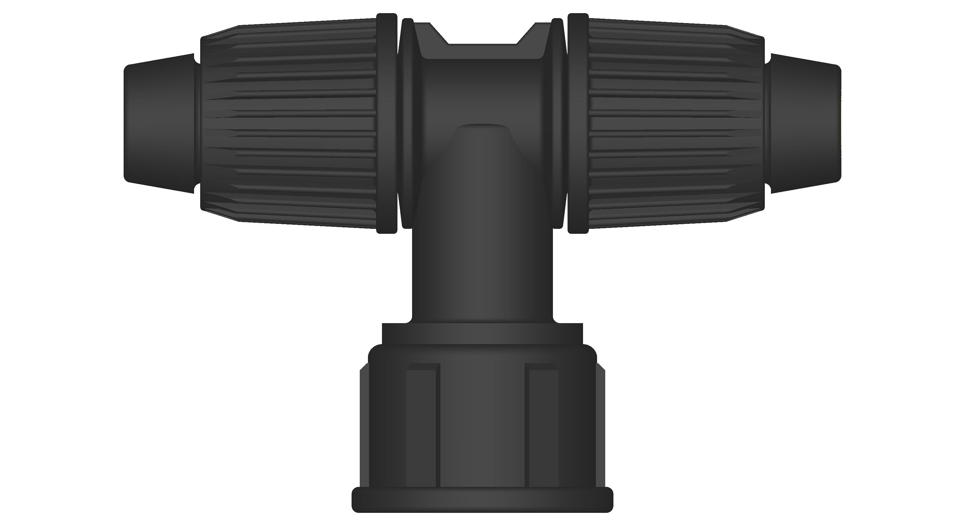 Hose - lock swivwl tee fittings